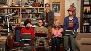 Imatge de la sèrie 'The Big Bang theory'.