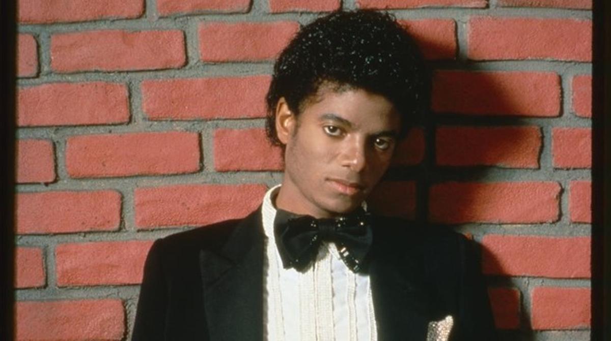 Michael Jackson en 1979, durante una de las sesiones fotográficaspara 'Off the wall'.